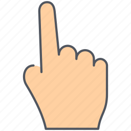 fingers, gesture, hand, language, middle finger, point, sign icon