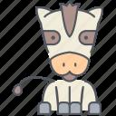 horse, mule, pony, texas, wild west, animal, donkey icon