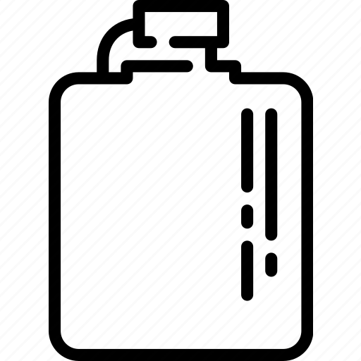 alcohol, drink, flask, texas, whiskey, wild west icon