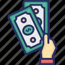 cash, currency, dollar, finance, money