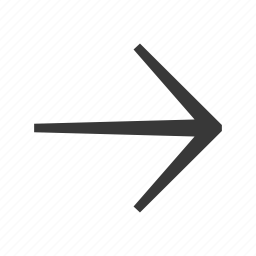 arrow, direction, next, pointer, right icon