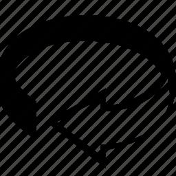 arrow, back, ccw, control, cw, cw rotate, next, previous, rotate, rotation, z axis icon
