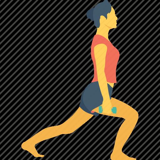 back leg, bodycare, cardio exercise, pilates, training icon