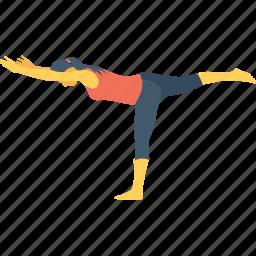 exercise, leg balance, leg exercise, leg workout, stiff leg icon