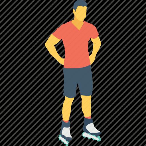 skates, skates shoes, skating, sports, sportsman icon
