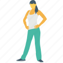 stand, standing, yoga, yoga mountain pose, yoga poses icon