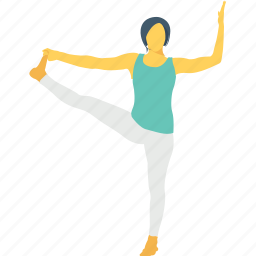 balancing, leg stretch, standing, standing toe pose, yoga icon