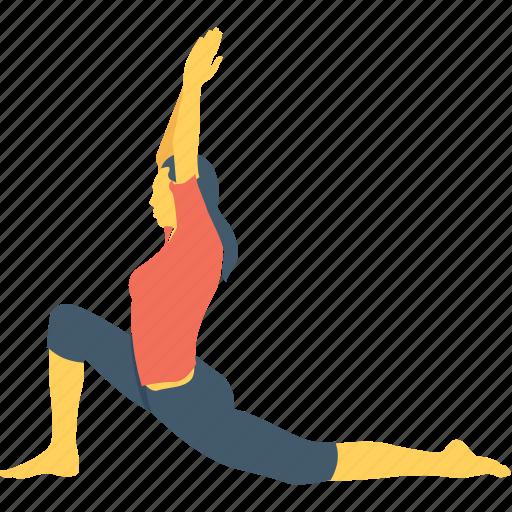 eka, flexibility, swan, workout, yin icon