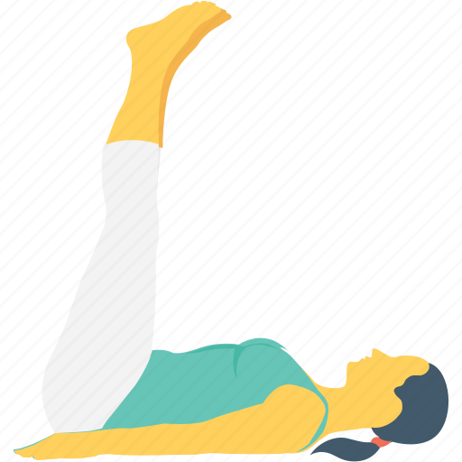 body, legs up, pants, yoga, yoga posture icon