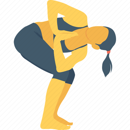 lunge pose, parivrtta, revolved lunge pose, stretch, twist icon