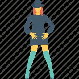 beautiful, fashion girl, girl, hat, women icon