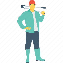 occupation, plumber, profession, repair, worker icon