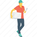 logistics, delivery service, parcel, courier, package