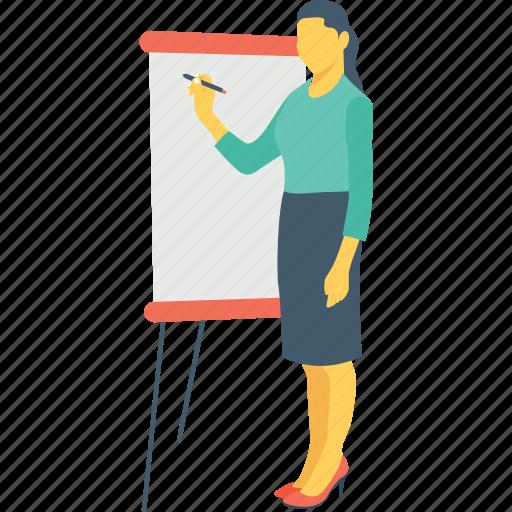 classroom, lecture, professor, teacher, teaching icon