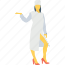 female, hotel, server, waitperson, waitress icon