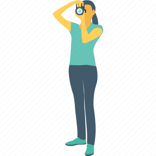 cameraperson, female, photographer, photographers, professional icon