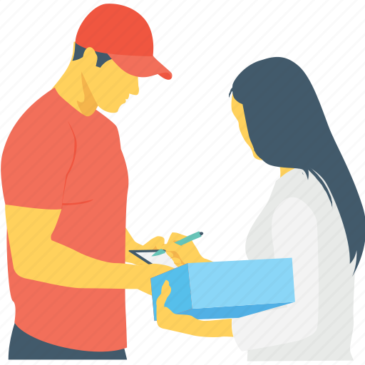 courier, delivery service, logistics, package, parcel icon