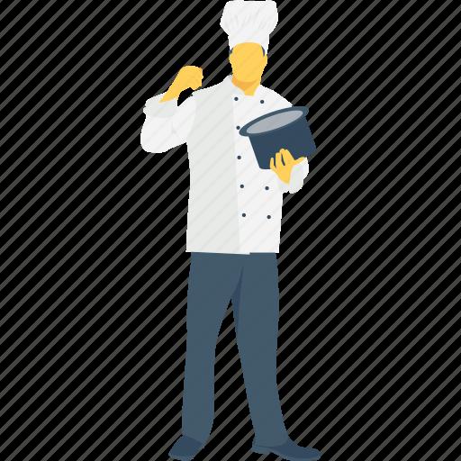 chef, cook, culinary, profession, restaurant icon