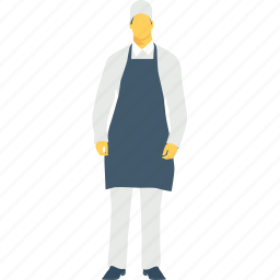 chef, cook, male, profession, restaurant icon
