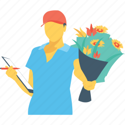 caretaker, farmer, greenskeeper, horticulturist, nurseryman icon