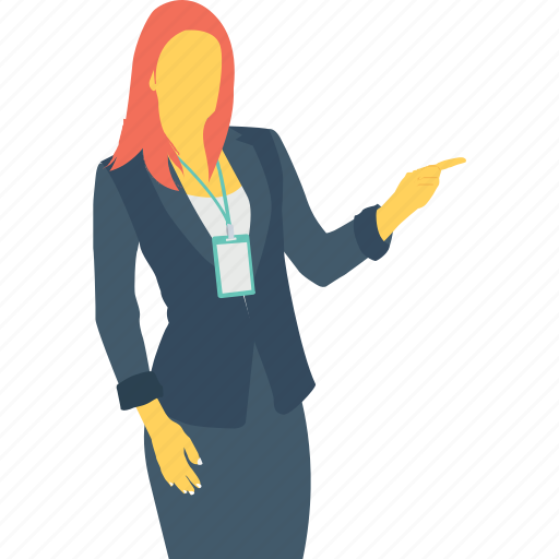 Boss, female, female secretary, lady, woman icon - Download on Iconfinder