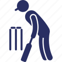 baseball player, batsman, cricketer, player, sportsman icon