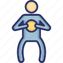 driver, driving pose, gymnastic, motorist, playing icon