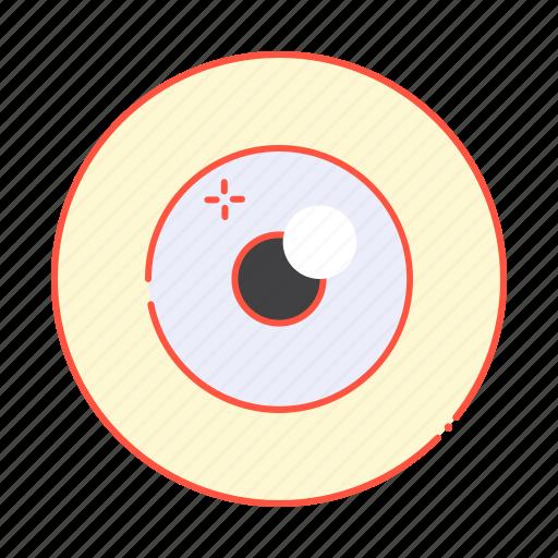 anatomy, eye, eyeball, look, sight, vision icon