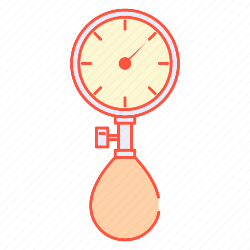 blood, gas, manometer, measure, pressure, pressure gage, tensimeter icon