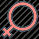 female, sign, gender