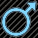 male, gender, sign