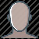 head, face, person