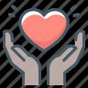 heart, love, care