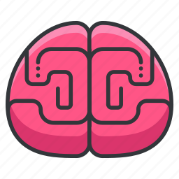 anatomy, body, brain, human, neurology, organ icon