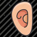 body, sound, audio, hear, human, ear