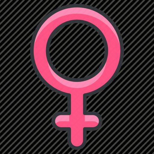 body, female, gender, girl, human, woman icon