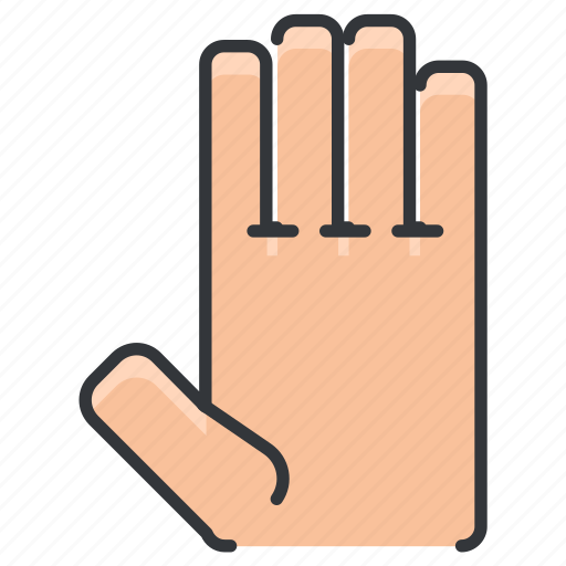anatomy, body, fingers, hand, human, limb icon