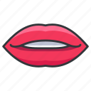 body, human, lips, lipstick, mouth icon