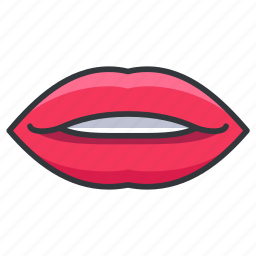 body, human, lips, lipstick, mouth icon