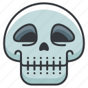 anatomy, body, human, lethal, skeleton, skull icon