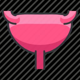 body, female, human, organ, reproduction, uterus icon