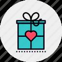 benefit, bonus, box, charity, desirability, gift, giveaway