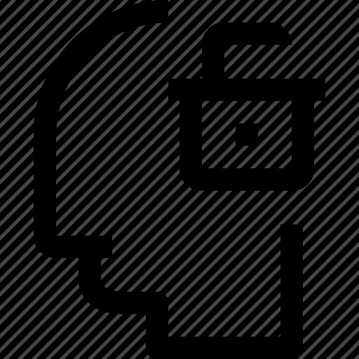 business, head, human, idea, mind, process, think icon