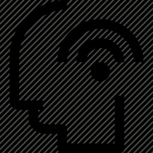 business, connect, head, human, idea, mind, process icon