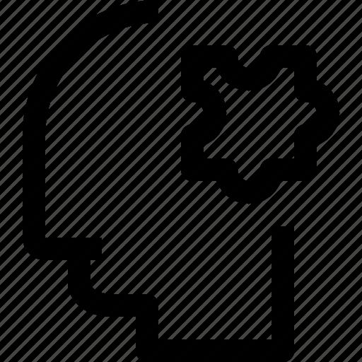 business, head, human, idea, mind, process, solution icon