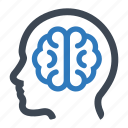 brain, brainstorming, idea icon