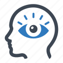 eye, view, vision icon