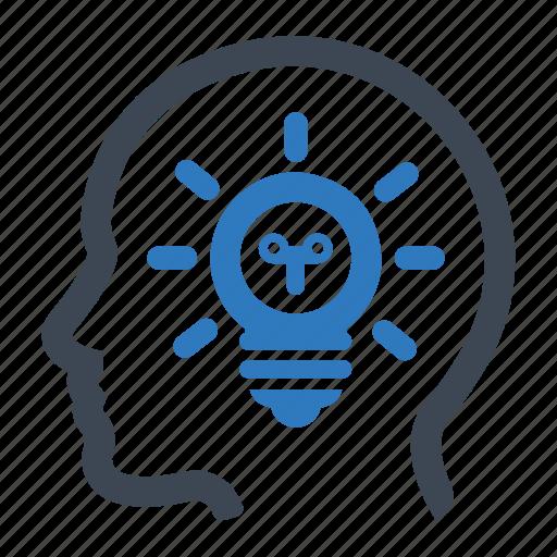 brainstorming, creative, idea icon