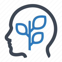 optimistic, positive, psychology icon