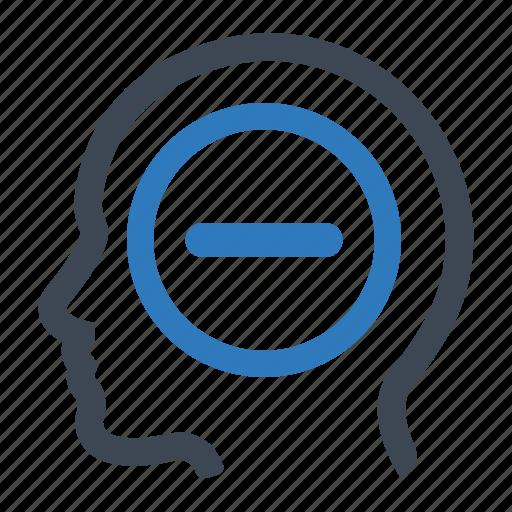 Mind, negative, thinking icon - Download on Iconfinder